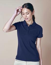 Ladies` Micro-Fine-Piqué Polo Shirt