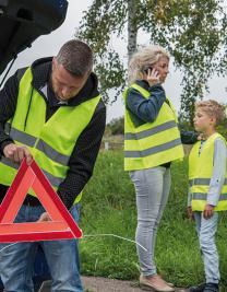 Car Safety Vest Family Pack EN ISO 20471