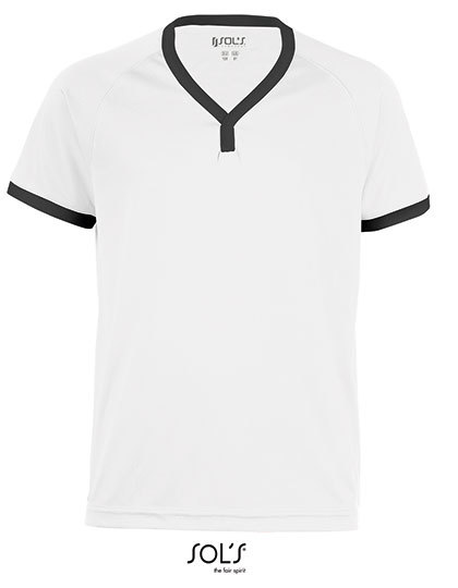 Kids` Short-Sleeved Shirt Atletico